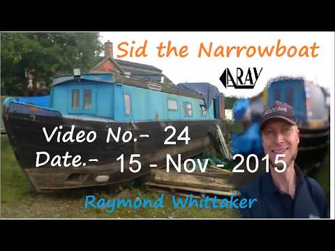 Sid Narrowboat refit project 24 Youtube