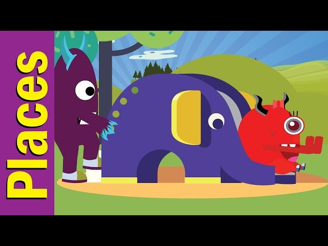 Where Are You Going? | Places Song | Fun Kids English