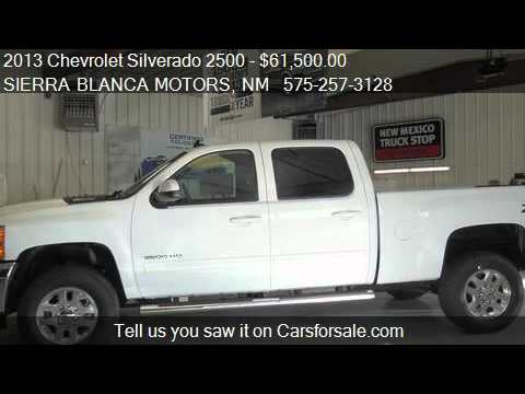 2013 Chevrolet Silverado 2500 Ltz For Sale In Ruidoso
