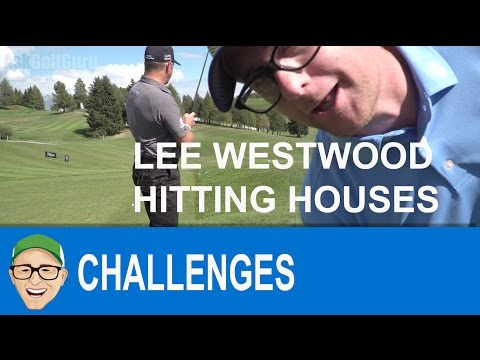 Lee Westwood House Hitting Challenge