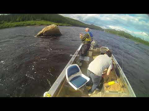 Fishing With Dad On The Eagle River, Labrador (2)
