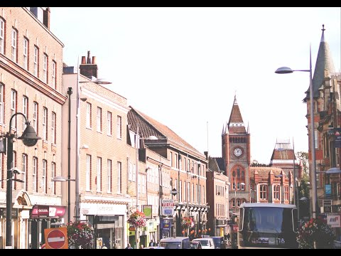 Bus Tour | Reading Town Centre | Claret 21 | Berkshire, UK