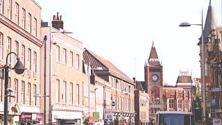 Bus Tour | Reading Town Centre | Claret 21 | Berkshire, UK