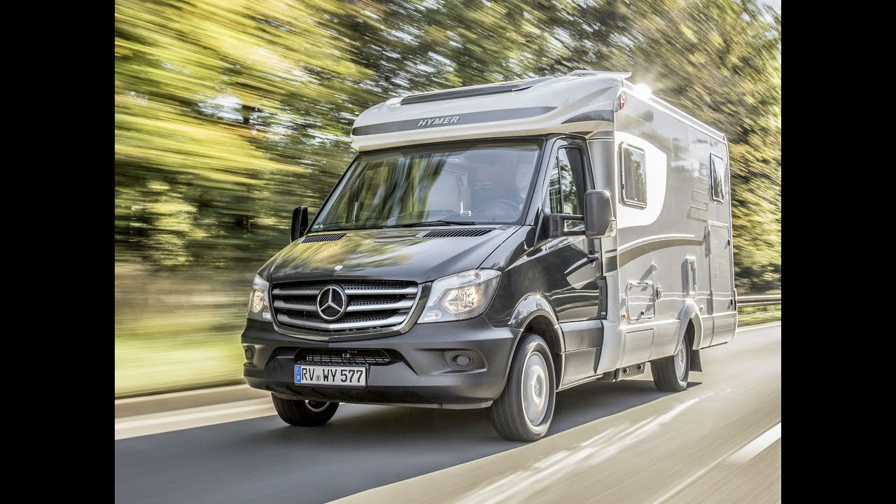 mercedes sprinter based hymer ml t motorhome assistan