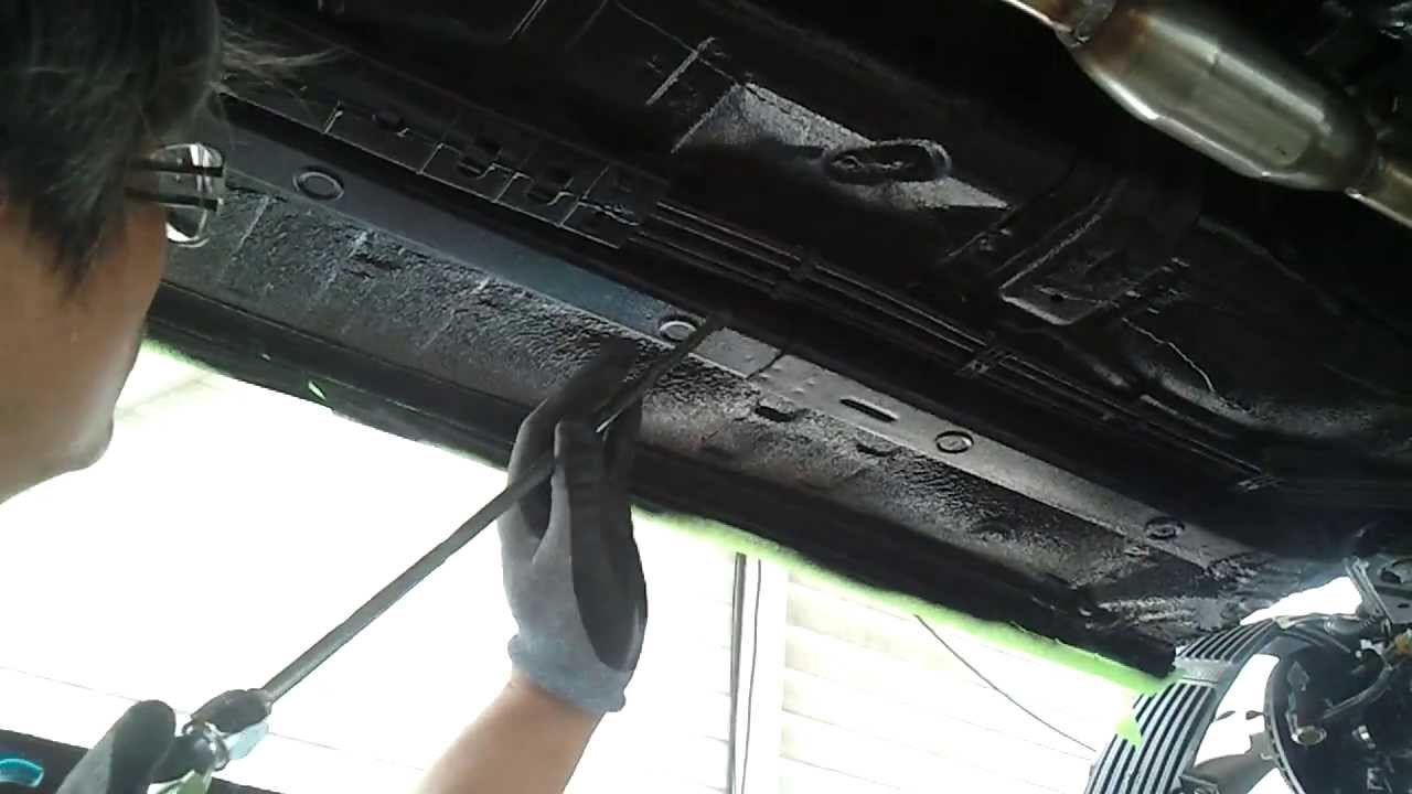 Undercarriage Coating Undercarriage Soundproof 수성 언더코팅