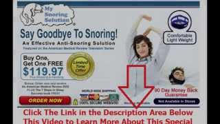 positions to stop snoring | Say Goodbye To Snoring