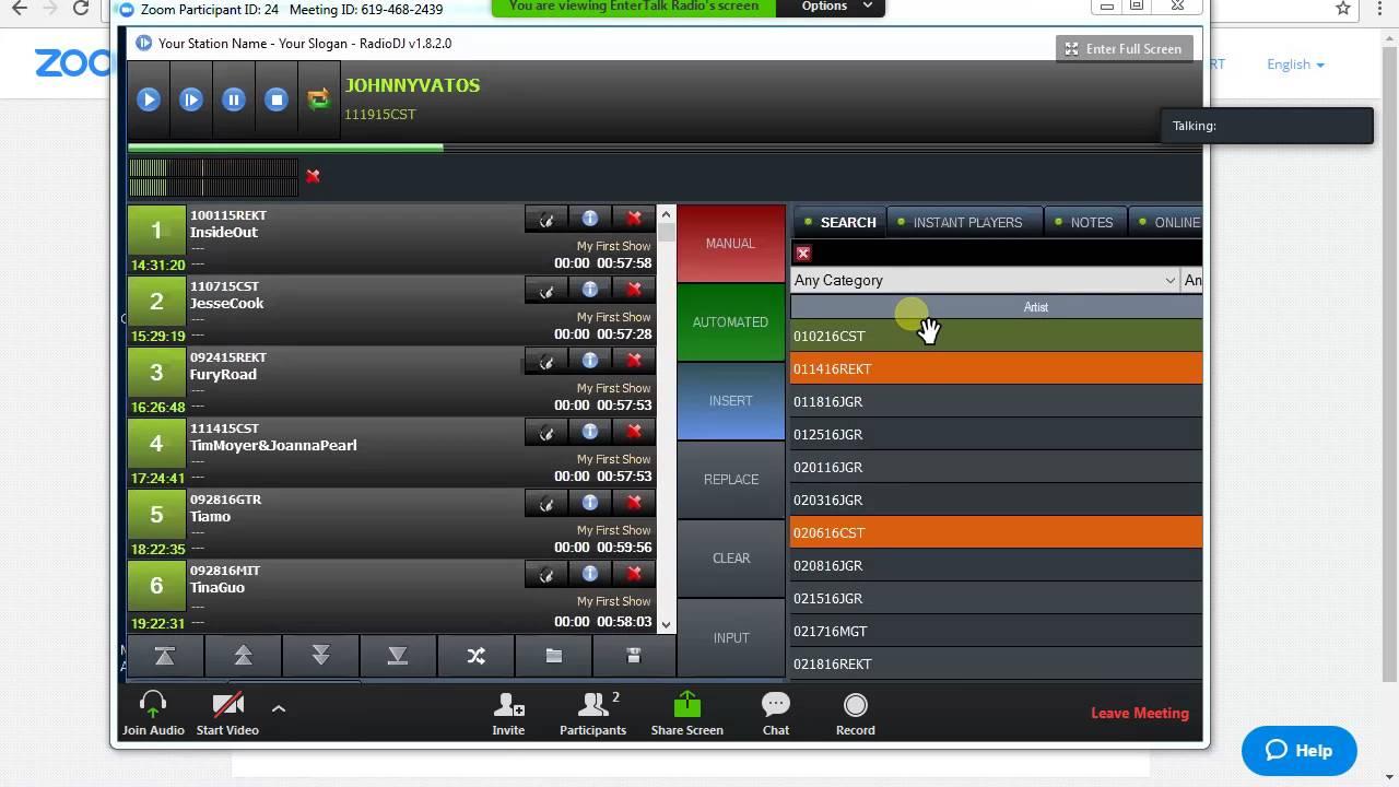 Zoom Screen Share Demo