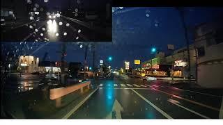夜の映り方ドライブレコーダー「コムテック(comtec) ZDR-015」
