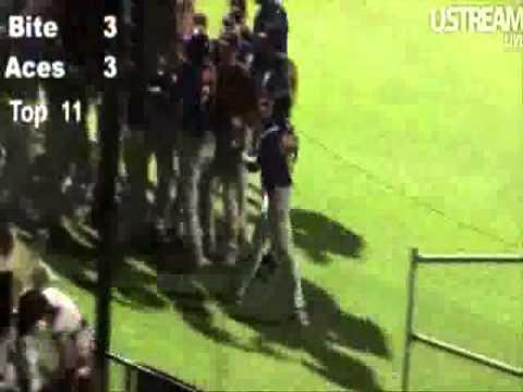 Adelaide Bite Winning Run Against Melbourne Aces - Australia Baseball Semi Final Decider