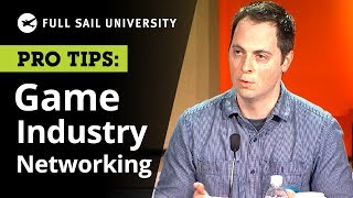 Networking in the Gaming Industry | Full Sail University