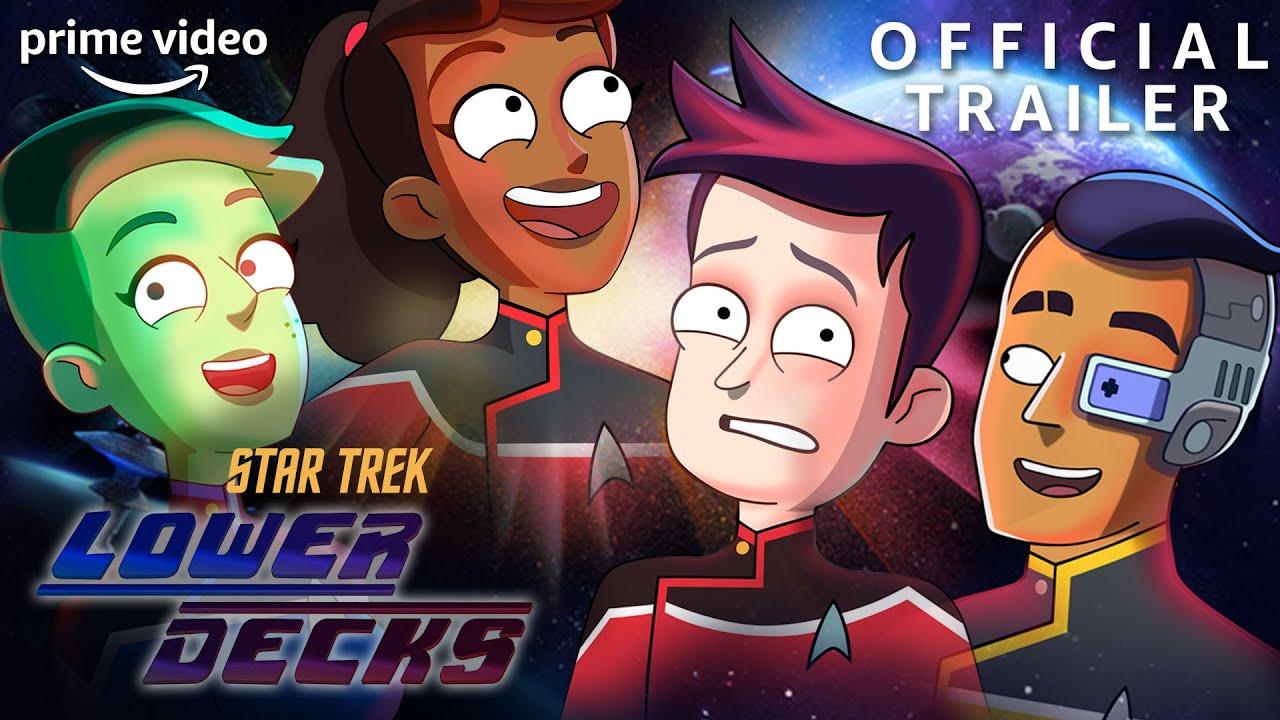 Star Trek: Lower Decks   Official Trailer   Prime Video