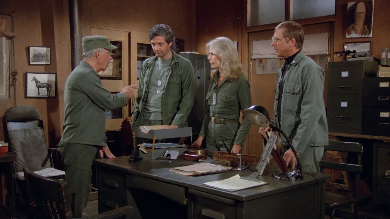 Download M*A*S*H - Col. Potter lays down the law