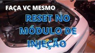 Reset no módulo de injeção - Recalibração de sensores - Como fazer