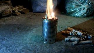 Пиролизная печь щепочница своими руками из подручных материалов Тест(, 2015-01-17T17:11:04.000Z)