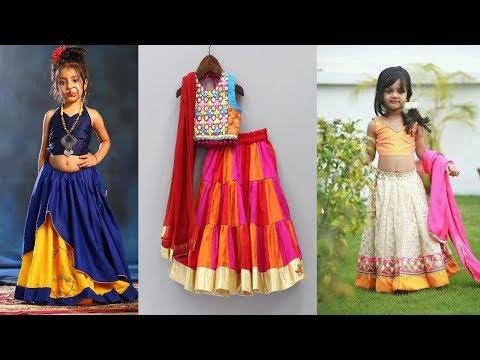 latest-kids-navratri-chaniya-choli-designs-ideas||garba-dandiya-dresses-for-little-girls