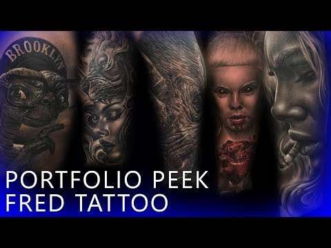 Portfolio Peek - Fred Tattoo