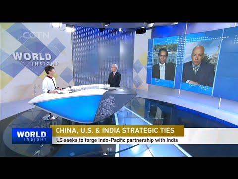 Chinese Media on India and US seeks strategic ties to sideline China
