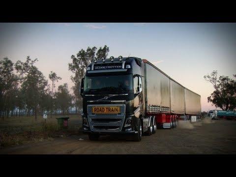 Volvo Trucks - Volvo FH roadtrain in the heart of trucking ...