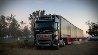 Volvo Trucks - New Volvo FH roadtrain in the heart of trucking hell: Brian