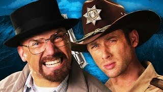 Rick Grimes vs Walter White.  Epic Rap Battles of History thumbnail