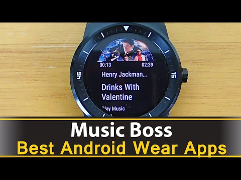 Music Boss - Best Android Wear Apps Series