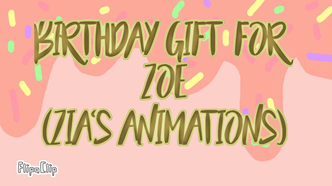 Ice Cream Cake Meme Happy Birthday Zoe Youtube