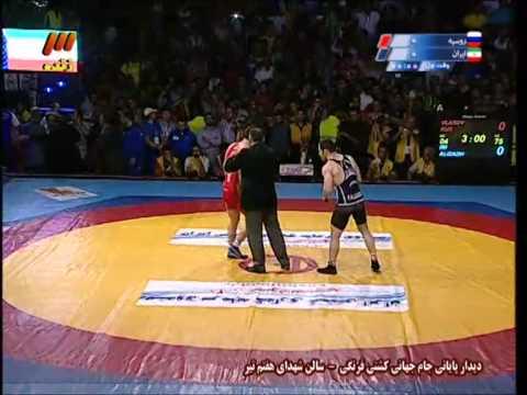2014 Greco-Roman Wrestling World Cup - Russia vs Iran