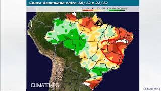 Comportamento das chuvas para o Agro