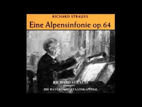 """Richard Strauss dirigiert """"Eine Alpensinfonie"""" (Bayerische Staatskapelle, 1941)"""