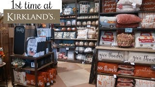 KIRKLANDS FALL DECOR 2019 * BROWSE WITH ME!!!