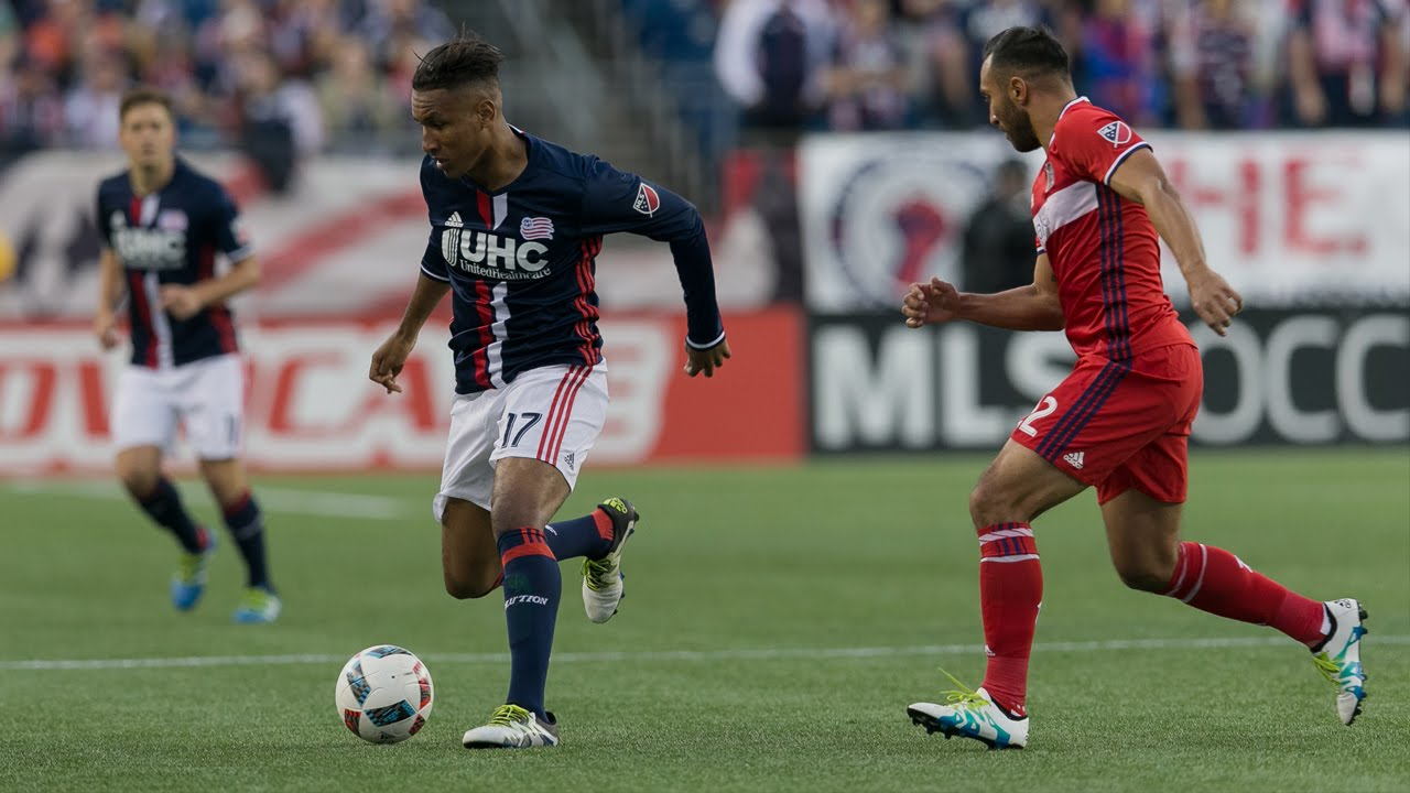 b33ef3aeb Lamar Hunt U.S. Open Cup Semifinal: New England Revolution vs. Chicago Fire:  Highlights