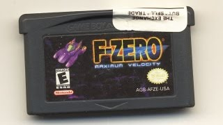 Classic Game Room - F-ZERO MAXIMUM VELOCITY review for Game Boy Advance