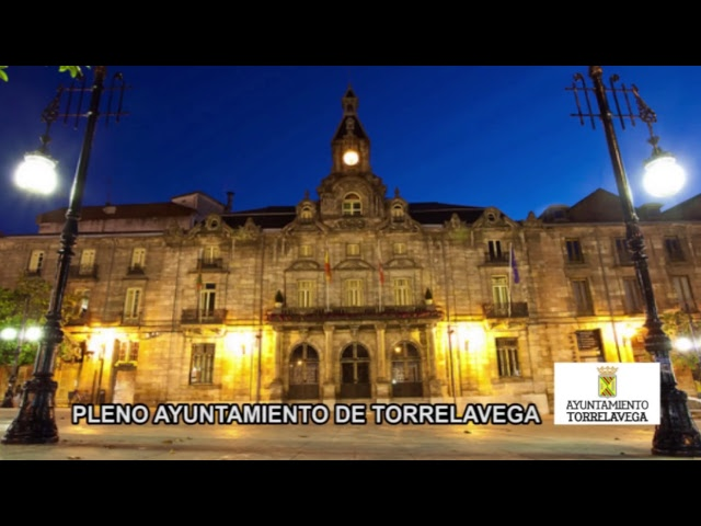 Sesión Plenaria Ayuntamiento de Torrelavega 31.8.2017