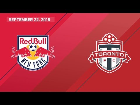 HIGHLIGHTS: New York Red Bulls vs. Toronto FC | September 22, 2018