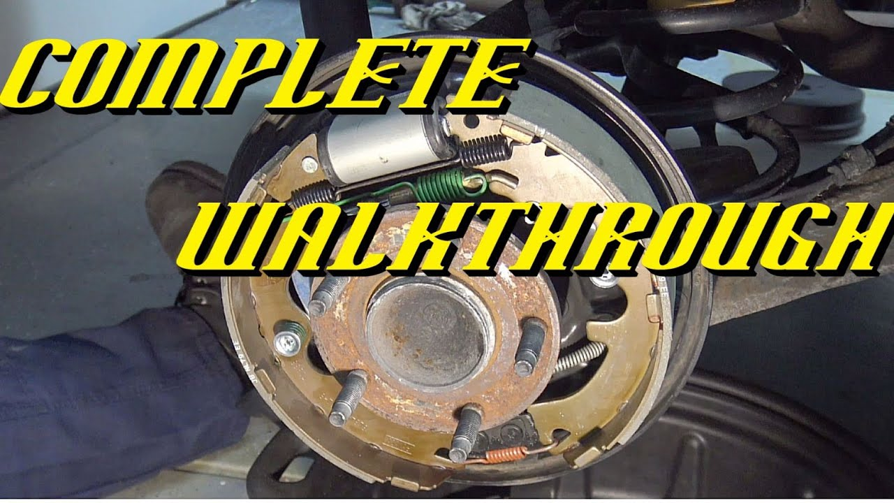 2008-2012 Ford Escape Rear Drum kes Replacement - YouTube on