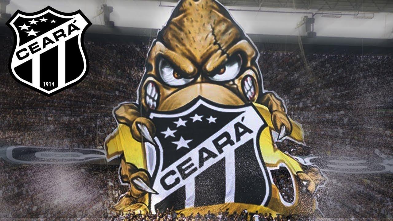 Torcida do Ceará faz lindo mosaico para celebrar os 105 anos do clube. 02.06.2019