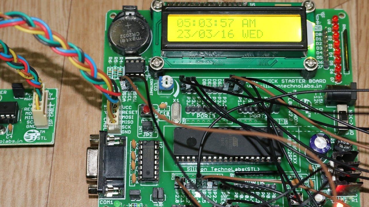 8051 board circuit diagram [ 1280 x 720 Pixel ]
