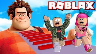 ESCAPE THE DETONA RALPH NO ROBLOX (EXHAUST WRECK IT RALPH OBBY)