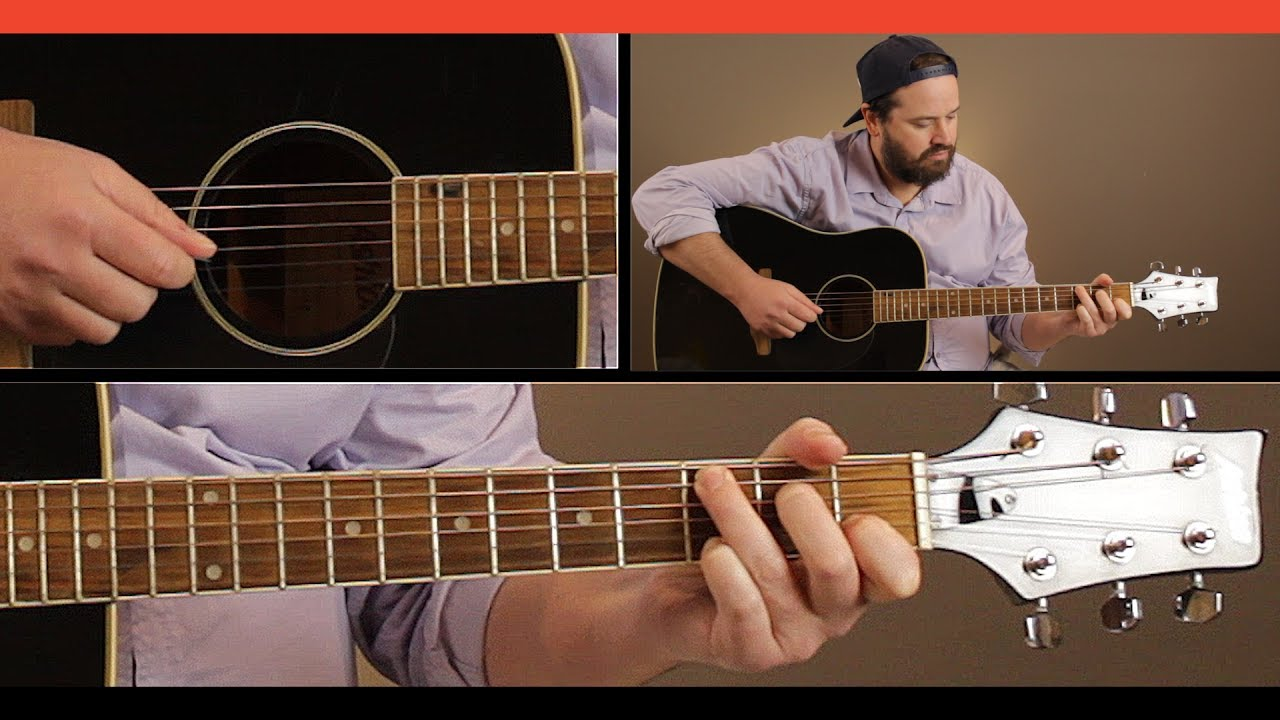 how to play paradise city on guitar acoustic