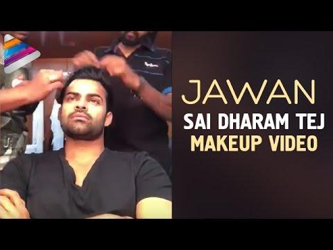 Sai Dharam Tej JAWAAN Movie Makeup Video | Mehreen | SS Thaman | Harish Shankar | Telugu Filmnagar