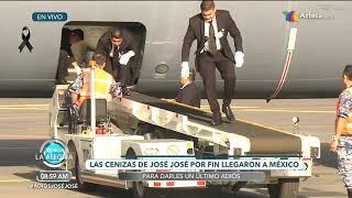 ¡Ya está en casa ! | El momento en que José José regresó a México