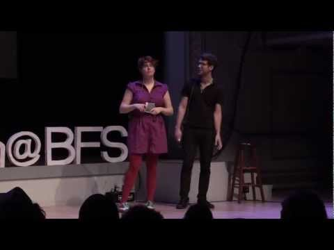 Trade School: Aimee  Lutkin  & Or Zubalsky at TEDxYouth@BFS