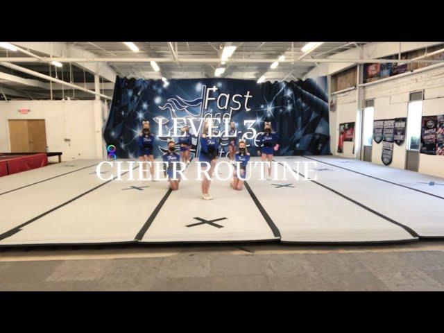 Level 3 cheer routine