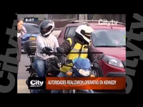 Robos de motocicletas en Bogotá  | Citytv | Marzo 1
