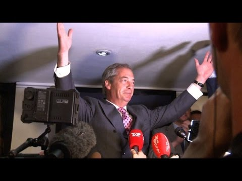Farage hopes Brexit win will bring down EU