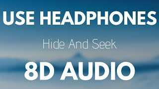 SLUMBERJACK Hide and Seek feat Claire Ridgely 8D AUDIO