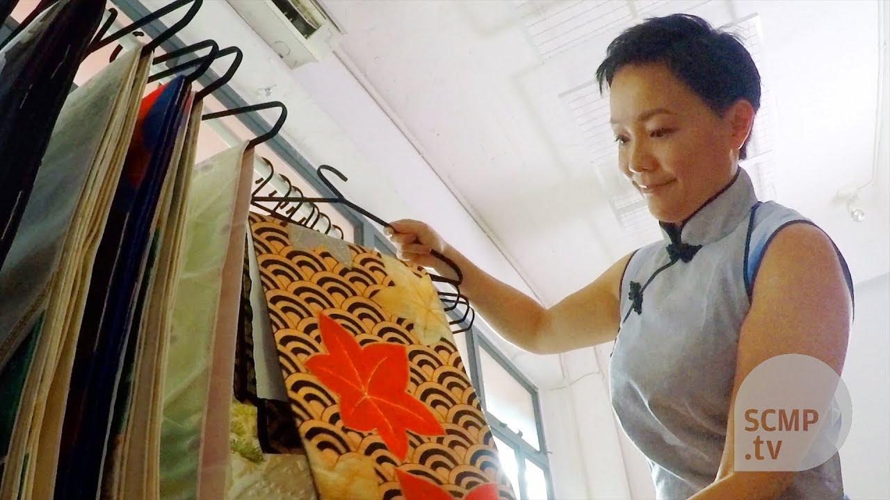 How A Hong Kong Designer Gives Vintage Kimono And Chinese Wedding Dress Second Life
