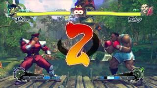 Super Street  Fighter IV Español gameplay Xbox 360