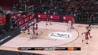 EuroLeague 24. Hafta: AX Armani Exchange Olimpia Milan - Anadolu Efes