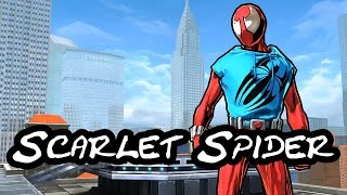 Spider-Man Unlimited: Scarlet Spider Suit Overview/Showcase